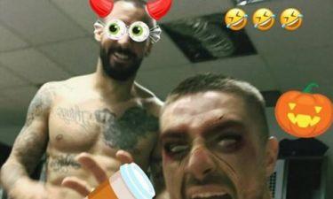 Έδωσαν... ρέστα στο Halloween οι παίκτες του Παναθηναϊκού! (pics)