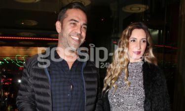 Στέφανος Κωνσταντινίδης: Πρώτη δημόσια εμφάνιση με την έγκυο σύζυγό του