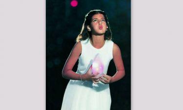 Η Φωτεινή Παπαλεωνιδοπούλου κράτησε ξανά την Ολυμπιακή Φλόγα