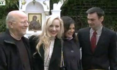 Φαίη Ξυλά – Κωνσταντίνος Γιαννακόπουλος: Βάπτισαν τον γιο τους