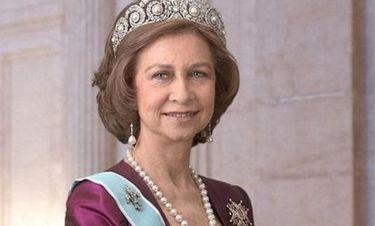 Ευχές και σοκολάτες μέντας στη λαμπερή βασίλισσα Σοφία