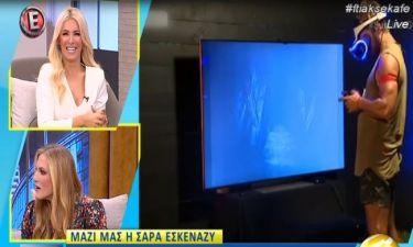 «Κόκκαλο» η Σάρα Εσκενάζυ με την ερώτηση της Καινούργιου για τον Γιώργο Αγγελόπουλο