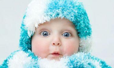 Πώς θα πρέπει να ντύνετε το μωρό τον χειμώνα