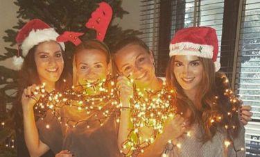 Σταματίνα Τσιμτσιλή: Σε mood Χριστουγέννων