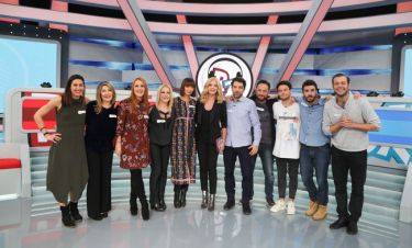 Το Celebrity Rouk Zouk υποδέχεται την τηλεοπτική παρέα της σειράς του ΑΝΤ1, «4xxx4»