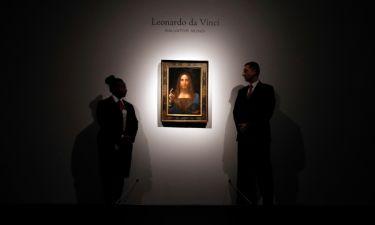 Απίστευτο ρεκόρ! Πίνακας του Da Vinci πουλήθηκε προς 450 εκατ. ευρώ!