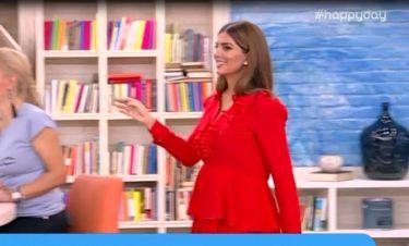 Σταματίνα Τσιμτσιλή: Η φουσκωμένη κοιλίτσα και το φαρδύ φόρεμα