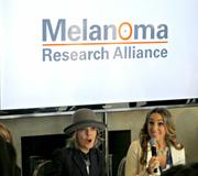 Η Ντάιαν Κίτον σε ομιλία της για το μελάνωμα