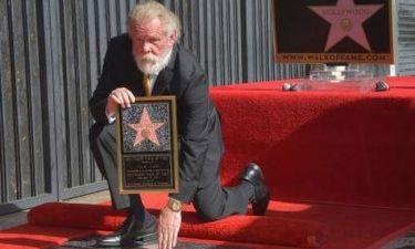 Ο Νικ Νόλτε απέκτησε το δικό του αστέρι στη Λεωφόρο της Δόξας