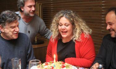 Νταίζη Λεμπέση: Γιόρτασε τα γενέθλιά της στο Κολωνάκι
