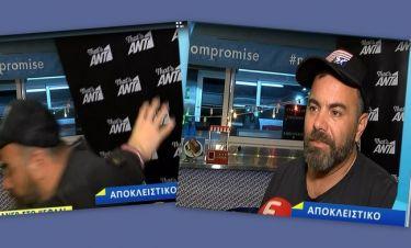 Κατατρόμαξε ο Βασίλης Καλλίδης: Το απρόοπτο περιστατικό την ώρα που έδινε συνέντευξη!