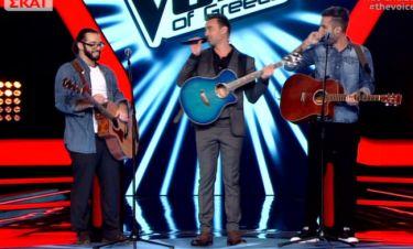 The Voice: Ο Καπουτζίδης πήρε την... κιθάρα του
