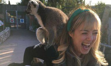 Η Άντα Λιβιτσάνου και οι... λεμούριοι