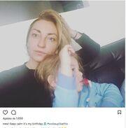 Γενέθλια για τη Ρούλα Ρέβη – Η πρωινή selfie με τον γιο της