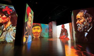 Η έκθεση Van Gogh Alive - The Experience γράφει την δική της ιστορία και στην Ελλάδα