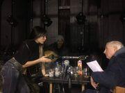 Μαρία Καρλάκη: Πρόβες για την πρεμιέρα της στη Θεσσαλονίκη με τον Διονύση Μακρή