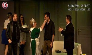 Αγγελική Δαλιάνη: Η έκπληξη για τα γενέθλια του Μάνου Παπαγιάννη στο θέατρο!