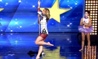 Ελλάδα Έχεις Ταλέντο: Η Ντορέττα Παπαδημητρίου έκανε... pole dancing