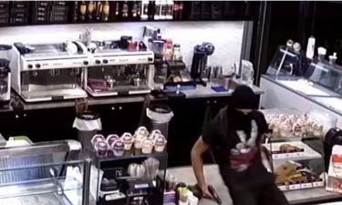 Αυτοί είναι οι ληστές ρήμαζαν καταστήματα: Βίντεο από τη δράση του «ψηλού» και του «κοντού»