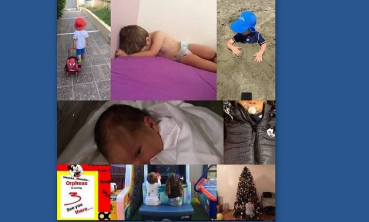Ο γιος της Σύλβιας Δεληκούρα έγινε τριών ετών - H  τρυφερή ευχή της μαμάς στο instagram