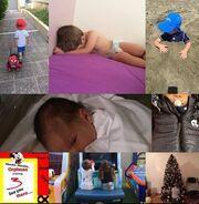 Ο γιος της Σύλβιας Δελικούρα έγινε τριών ετών - H  τρυφερή ευχή της μαμάς στο instagram