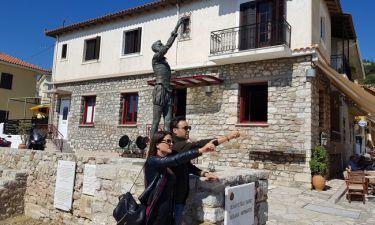«Love and Travel»: Ο Πέτρος Κουμπλής και η Σοφία Κωνσταντινίδου στο Αιτωλικό!