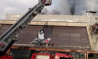 Φωτιά στο εστιατόριο του Nusret