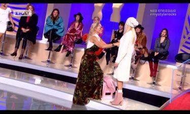 My style rocks: Από ποια διαγωνιζόμενη έβγαλε την ζακέτα η Κατσαϊτη και την φόρεσε στην Αλεξάνδρα;
