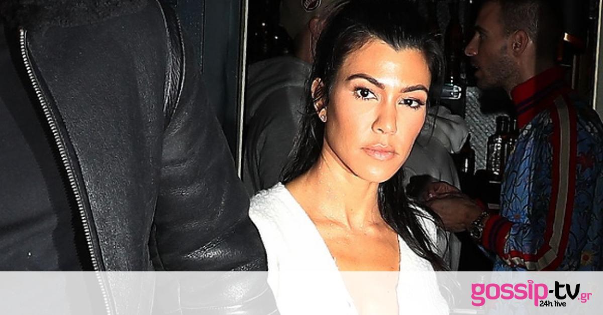 Kourtney Kardashian Strips Down for Sizzling Nude Photo