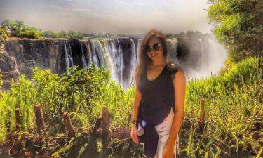 Η Χριστίνα Μουστάκα στη Νότια Αφρική
