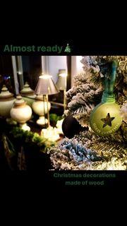 Μαριάντα Πιερίδη: Στόλισε το χριστουγεννιάτικο δέντρο της (φωτο)