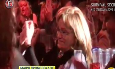 Συγκινεί η Μαίρη Χρονοπούλου! Μάγεψε με τη φωνή της παρά τα προβλήματα υγείας