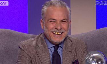 My Style Rocks: Η εμφάνιση του Χριστόπουλου με… χρυσά δόντια!