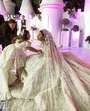 Ο ιδιοκτήτης της Άρσεναλ πάντρεψε την ανιψιά του- Ξόδεψαν εκατομμύρια και το αποτέλεσμα ήταν κιτς