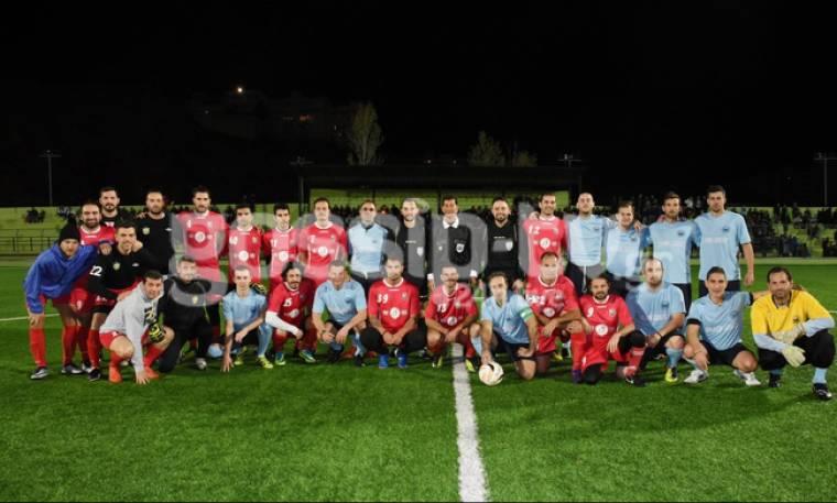 Φιλανθρωπικός αγώνας ποδοσφαίρου με celebrities και παλαίμαχους ποδοσφαιριστές