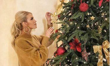 Κατερίνα Καινούργιου: Το στόλισμα του δέντρου και οι... νυχτερινές ανησυχίες