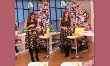 Τρελό Γέλιο: Δε φαντάζεστε τι έπαθε η εγκυμονούσα Σταματίνα Τσιμτσιλή on air!