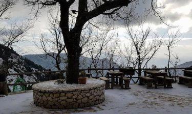 Καιρός για χιόνια στην Αθήνα: Το «έστρωσε» στην Πάρνηθα – Δείτε φωτογραφίες