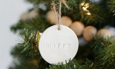 Χριστουγεννιάτικες ιδέες διακόσμησης για όσες έχουν καθυστερήσει να στολίσουν