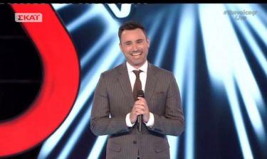 The Voice: Το μήνυμα του Καπουτζίδη στο πρώτο live- Τι είπε για τον μεγάλο τελικό