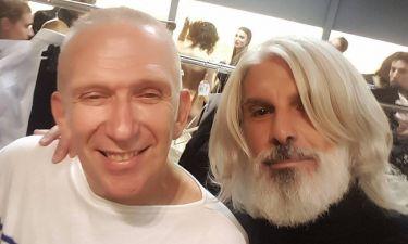 Ο Μάνος Πίντζης και η συνεργασία του με τον Jean Paul Gaultier