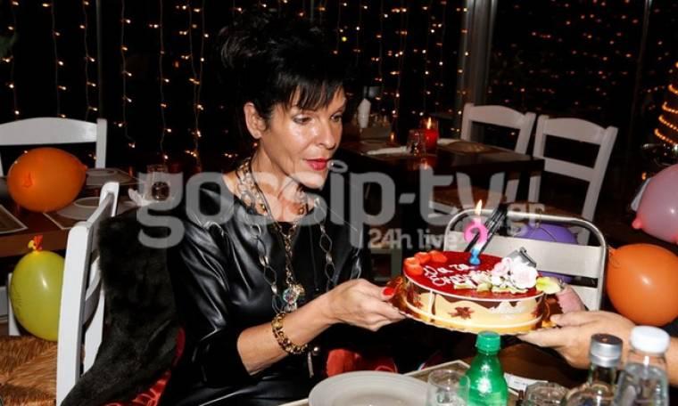Σοφία Βόσσου: Γιόρτασε τα γενέθλια της με φίλους