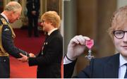 Ed Sheeran: Τιμήθηκε ως μέλος του Τάγματος της Βρετανικής Αυτοκρατορίας από τον Πρίγκιπα Κάρολο