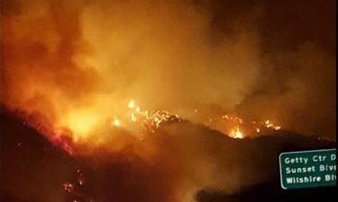 Η φωτιά στο Μπελ Ερ έχει κάψει 260.000 στρέμματα