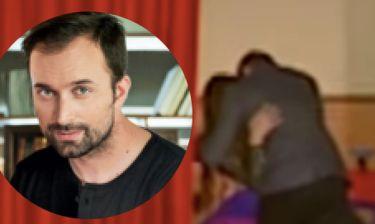 Ο χωρισμένος Λιανός φιλάει παθιασμένα την Μαρκέλλα. (Video) (Nassos blog)