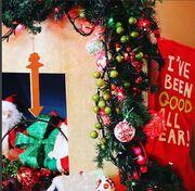 Η οικογένεια Τσαλίκη στόλισε το σπίτι της για τα Χριστούγεννα – Θα πάθετε πλάκα με τον στολισμό