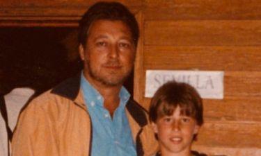 Ο Ράμος εύχεται στον μπαμπά του με μια φωτογραφία από τα παιδικά χρόνια του