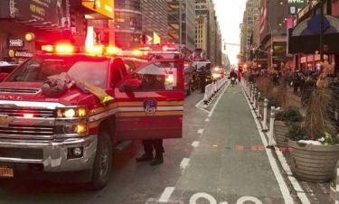 Έκρηξη βόμβας στη Νέα Υόρκη - Πληροφορίες για τραυματίες
