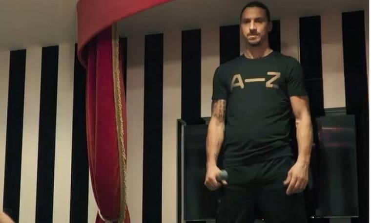 Και όμως... ο Zlatan Ibrahimović έχει και αστεία πλευρά