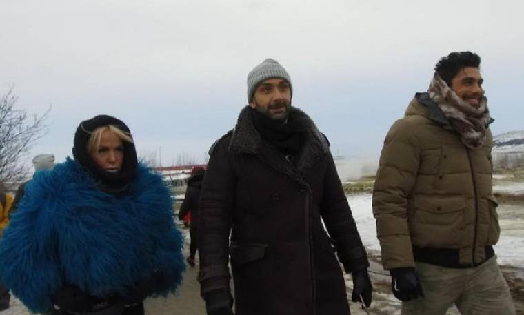 Celebrity Travel στην Ισλανδία με Καλογρίδη και Βασιλάκο